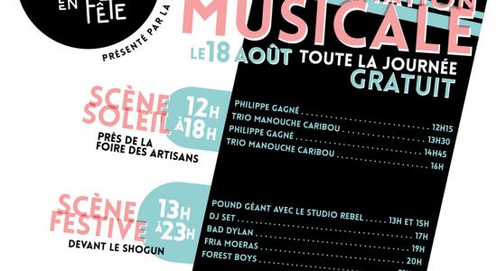 Programmation musicale de Saint-Sauveur en Fête!
