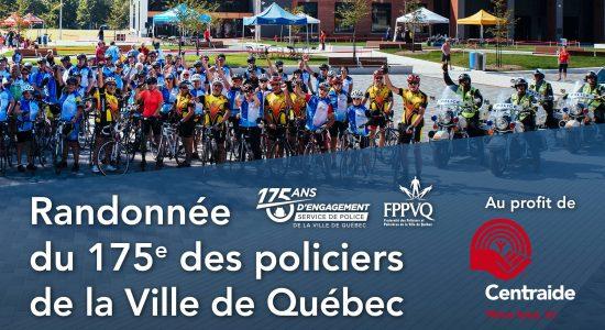 Randonnée du 175e des policiers de la Ville de Québec