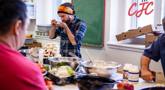 Dernier souper communautaire avant l'été