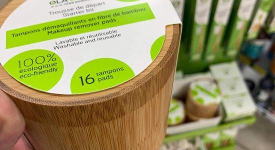 La gammeOLA Bamboo disponible en succursale   Jean Coutu – Saint-Vallier