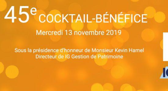 45e cocktail-bénéfice du Centre Durocher