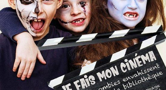 Je fais mon cinéma : Les zombies envahissent la bibliothèque