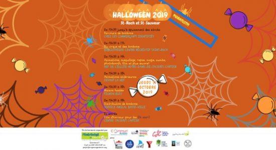 Fête d'Halloween dans St-Roch et St-Sauveur 2019