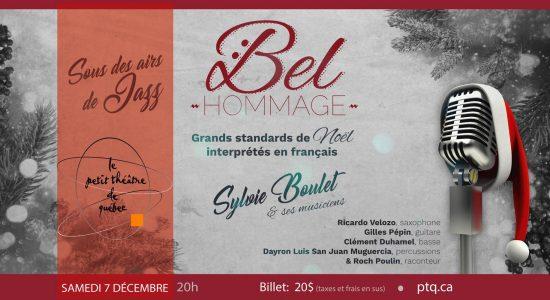Bel Hommage- Grands standards de Noël