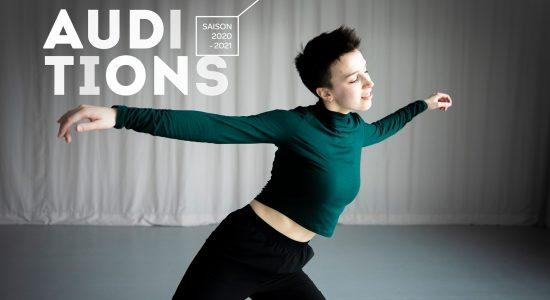 Audition de la formation supérieure en danse contemporaine