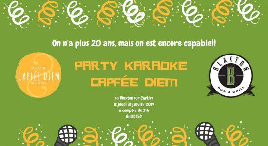 Party karaoké Capfée Diem