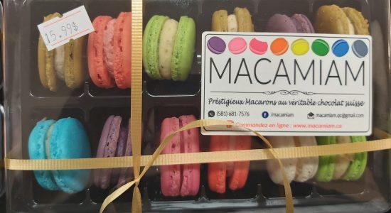 Nouveauté : Macarons Macamiam | Marjane | Boucherie – Épicerie – Traiteur