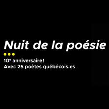 Nuit de la poésie – 10e anniversaire!