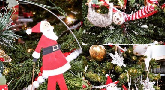Ornements pour sapin de Noël | Coin du monde (Un)