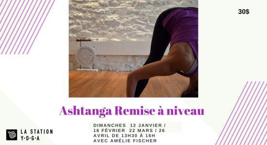 Atelier – Ashtanga : remise à niveau