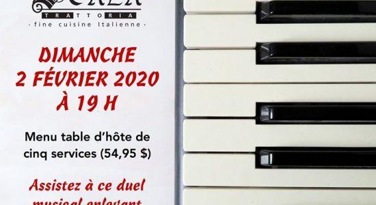 Duel musical | Pianistes: Guillaume Lecompte et Sylvain Martin