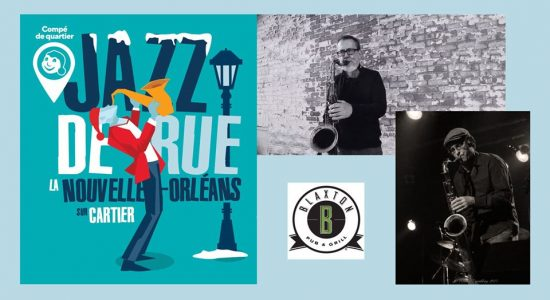 Jazz de rue au Blaxton