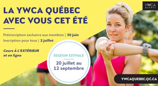Inscription été | YWCA Québec