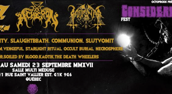 Considered Dead Fest 2017 (Part.II)