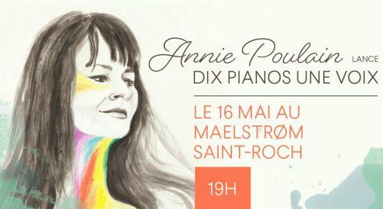Annie Poulain   Lancement d'album