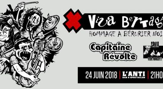 Viva Bertaga | Hommage à Bérurier Noir