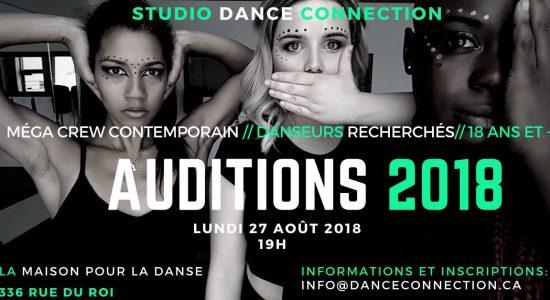 Audition MÉGA Crew// Troupe Compétitive