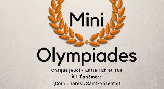 Les Mini-Olympiades