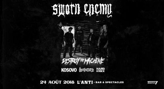Sworn Enemy, Destroy The Machine, Devil's Maze, Kosovo