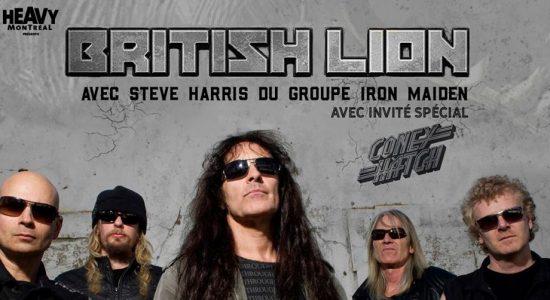 Heavy Montréal présente British Lion Ft. Steve Harris