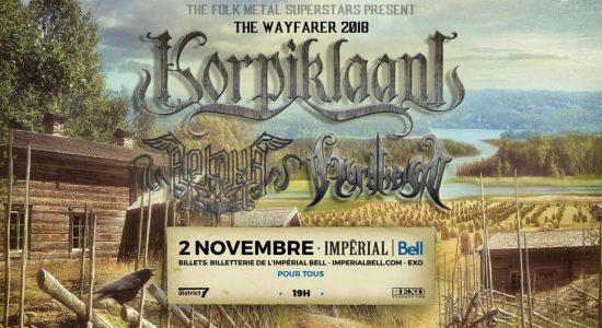 Korpiklaani & Arkona avec Nordheim