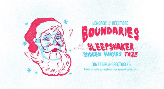 Boundaries' Christmas Party 2 w/ Sleepshaker, Sudden Waves, Taze