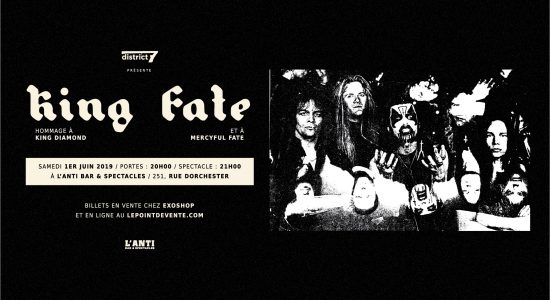 King Fate – Hommage à King Diamond & Mercyful Fate