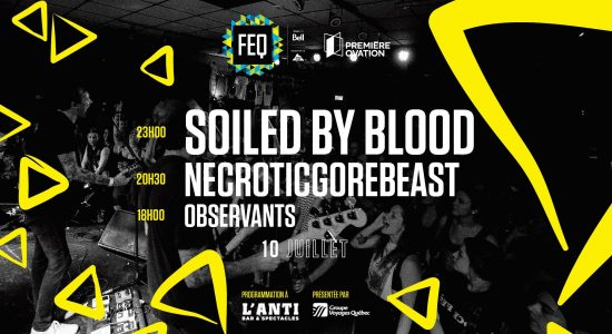 Soiled By Blood • NecroticGoreBeast • Observants