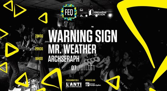 Warning Sign • Mr.Weather • Archseraph