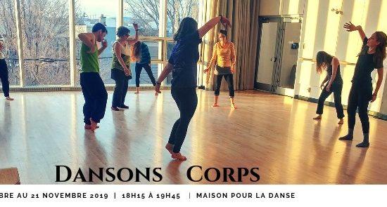 Dansons Corps | Automne 2019