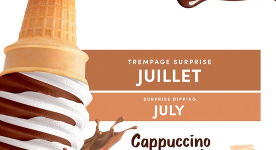 Trempage du mois de juillet : Cappuccino caramel   Chocolato