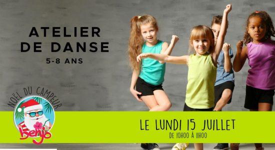 Atelier de danse • 5-8 ans