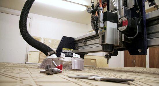 Initiation au fonctionnement d'une toupie à commande numérique