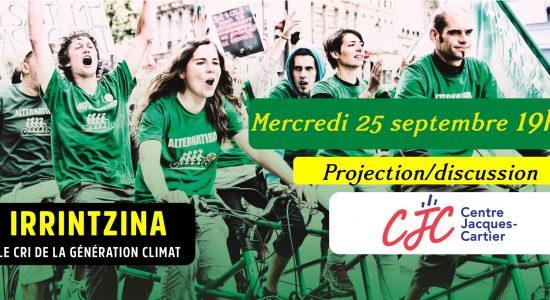 DOCU: Irrintzina, le cri de la génération climat!