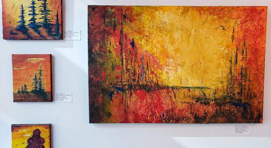 Exposition artistes peintres   Geneviève Beaulieu et Andréanne Pérusse