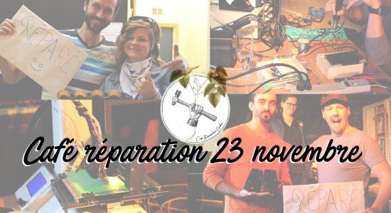 Café réparation, 4è édition!