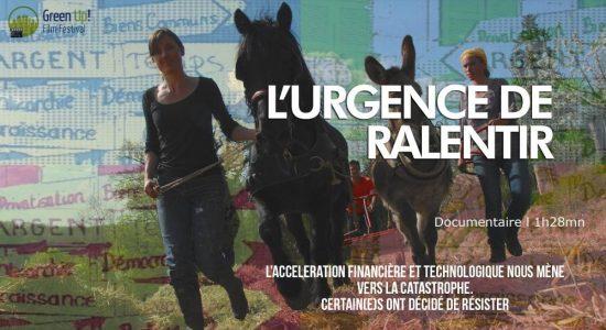 Documentaire: Urgence de ralentir