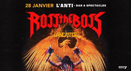Ross The Boss avec Lancaster
