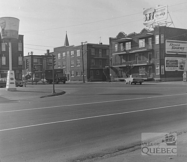 Chemin de la Canardière. Archives de la Ville de Québec