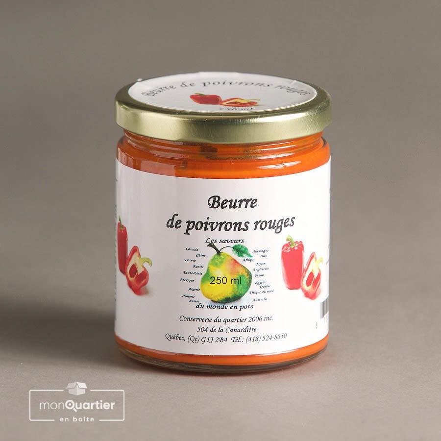 Beurre de poivrons rouges