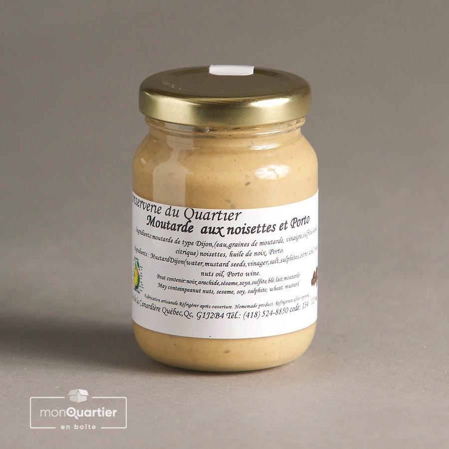 Moutarde noisettes et Porto