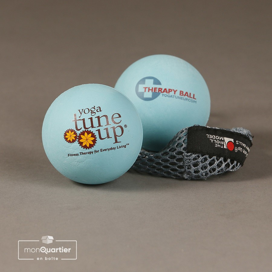 Balles de massage Yoga TuneUp