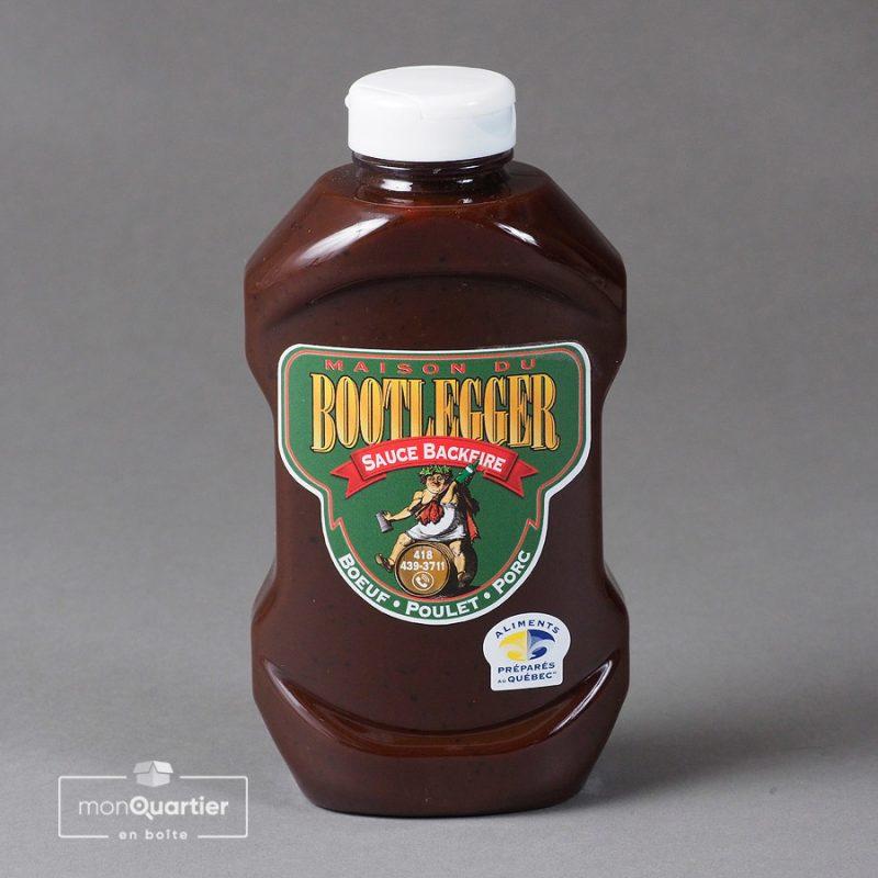 Sauce backfire Bootlegger