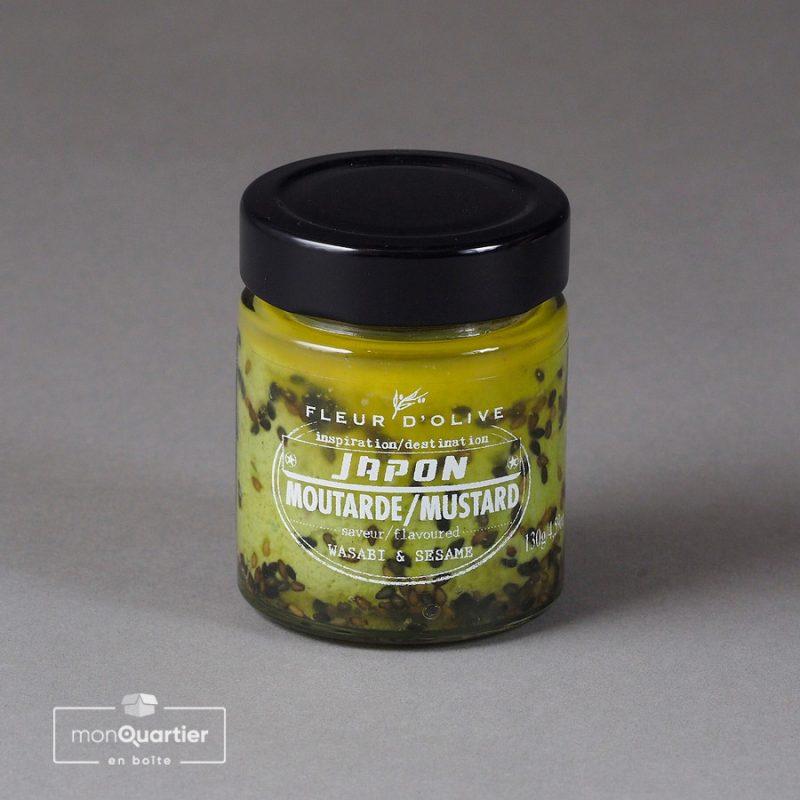 Moutarde wasabi et sésame