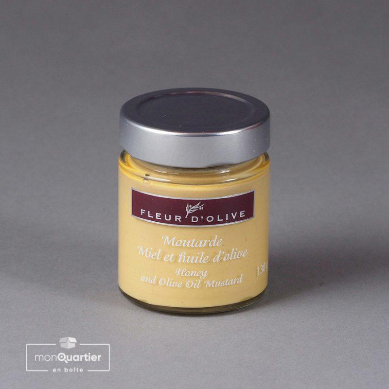 Moutarde miel et huile d'olive