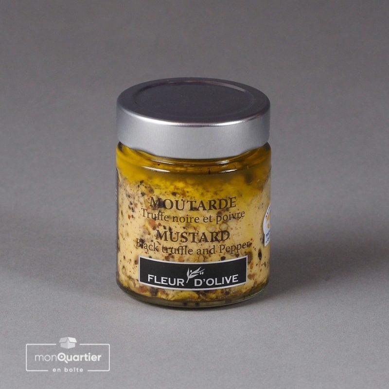 Moutarde truffe noire et poivre