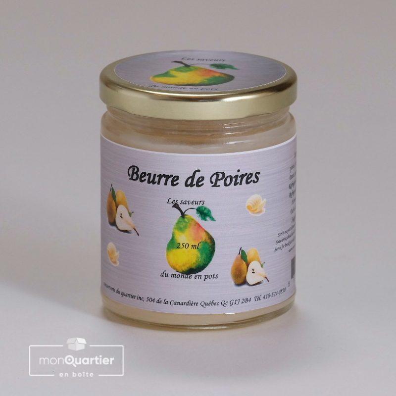 Beurre de poires