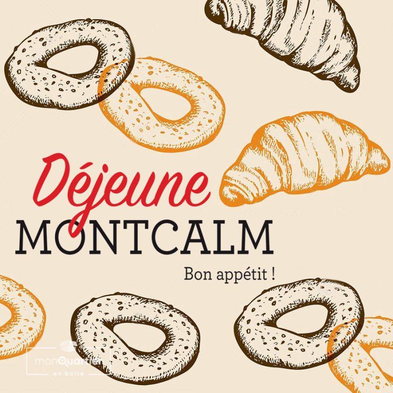 Boîte Déjeune Montcalm