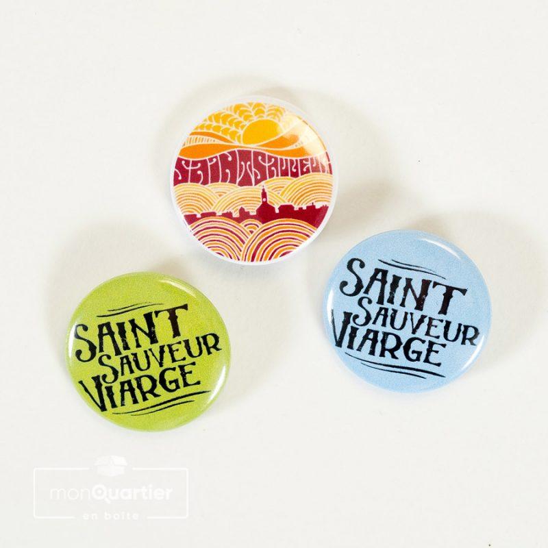 Mini épinglettes Saint-Sauveur