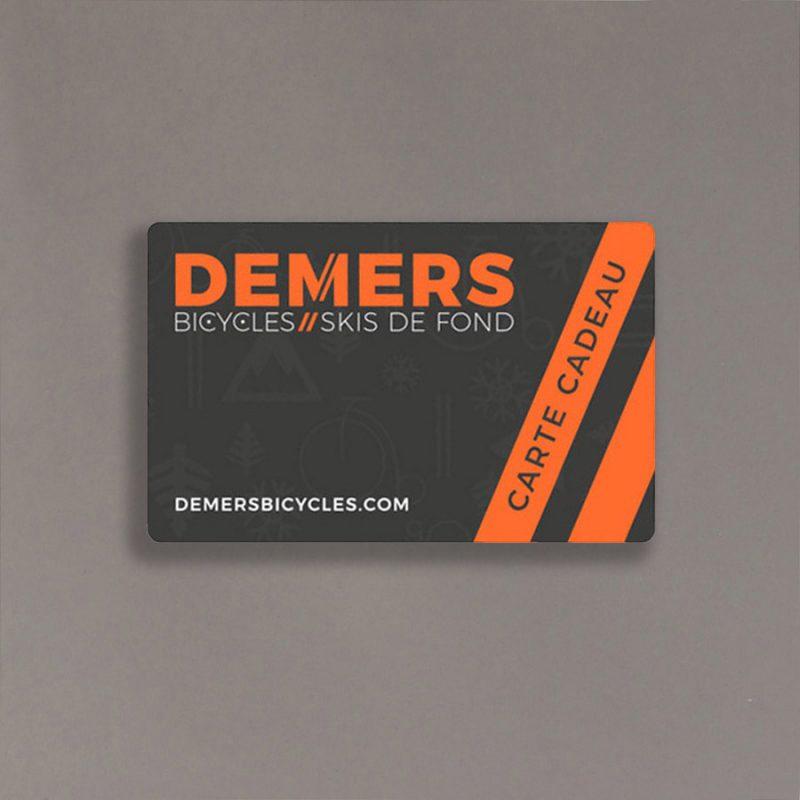 Certificat cadeau Demers